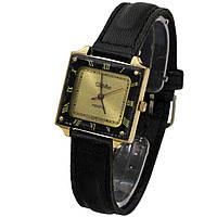 Женские позолоченные часы Слава кварц сделано в СССР