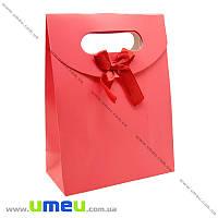 Подарочный пакет на липучке, Красный, 16х12х6 см, 1 шт (UPK-020430)