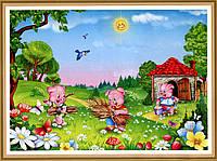 Фото обои, Веселые ребята 8 листов, размер 134 x 194cm