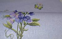 Обои на стену, букет, цветы, бабочки,  дуплекс,B64,4 Фиалка 8093-03, 0,53*10м