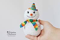 Новогодний снеговик, фото 1