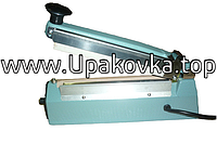 Настольный запайщик пакетов с боковым ножом FS-200-С ( длина шва 200 мм ширина 2 мм)