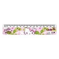 Лінійка пластикова 15 см Hello Kitty HK17-090
