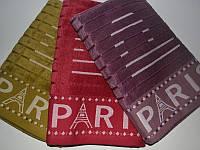 Париж велюр дорогой 6 шт в уп. Размер 0,5*0,9 лицев 100% хлопок полотенце оптом большой опт самая дешевая цена