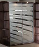 Шкаф-купе угловой Stels 1700*1700*2400*400, фото 1