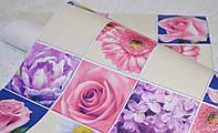 Обои, цветы, крупный рисунок, желтый, влагостойкие,бумажные,B56,4 Соцветие 8081-05, 0,53*10м