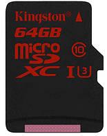 Карта пам'яті Kingston Micro SDXC UHS-I U3 64 ГБ (SDCA3/64GB)