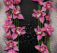 Фотообои, Малиновые орхидеи 12 листов, размер 196х210 см