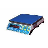 Фасовочные настольные весы 3 6 10 20 кг со счетной функцией