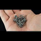 💈🔧🔨 Как сделать сложную намотку для атомайзера. Обзор для новичков. 👇