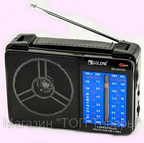 Радио RX A07,Радиоприемник GOLON RX-A07!Опт, фото 2