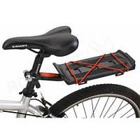 """Багажник для велосипеда """"Под седло"""" удлиненный алюминиевый"""