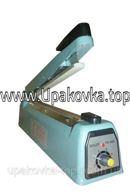 Настольный запайщик пакетов FS-300/5 ( длина шва 300 мм ширина 5 мм ) - Упаковка Топ в Киеве