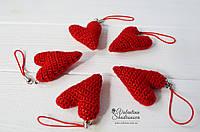 Сердечко - валентинка брелок , фото 1
