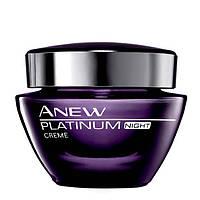 79877, Avon Cosmetics.Моделирующий ночной крем для лица Anew Platinum для возраста 55+, 50 мл. Avon,79877