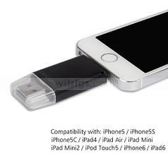 Картридер I-FlashDevice для Iphone и Ipad