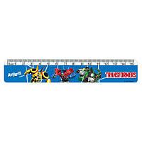 Линейка пластиковая 15 см Transformers TF17-090, фото 1