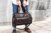 Кожаная мужская сумка mod.Nonstand Brown