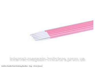 Спицы носочные Zing KnitPro 15 см | 2 мм