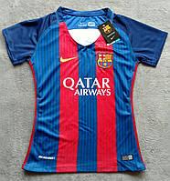Женская футболка Барселона