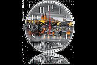 Часы-картина 33 см. Код: 74