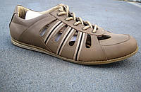 Мужские кожаные мокасины большие размеры 46-49 р-р, фото 1