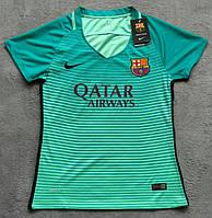 Женская футболка Барселона (зеленая)