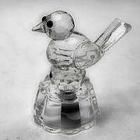 Фигурка хрустальная Птица с подсветкой 5* 5,5*4 см