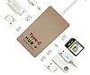 Переходник для  macbook 6 портов usb type-c 3.1 hub с 4K HDMI PD  type c