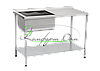 Стол производственный с ванной 1500*600*850 НЖ