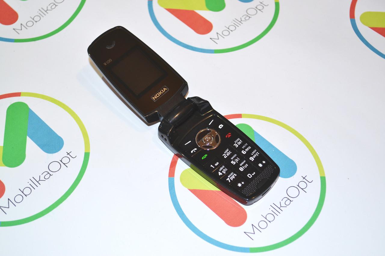 Кнопочный мобильный телефон раскладушка (BMW) Nokia w100,  2sim, Fm, Bluetooth, MP3/MP4
