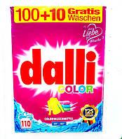 Стиральный порошок для цветного белья  Dalli Color 7.15kg(110стирок)