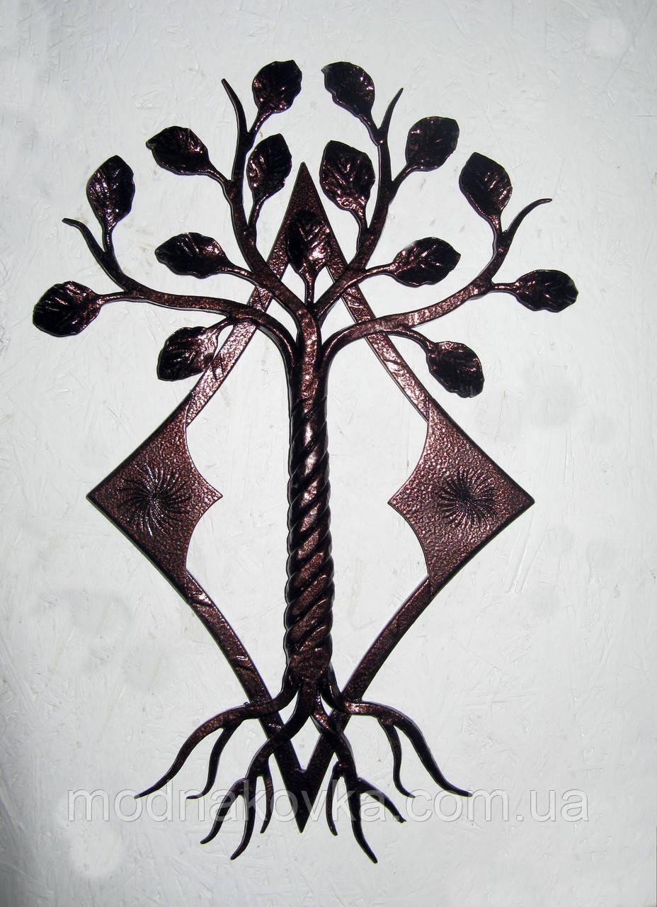 Панно кованое Дерево
