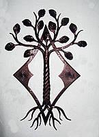 Панно кованое Дерево, фото 1