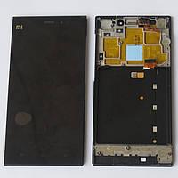 Дисплей (LCD) Xiaomi Mi3 + touch screen black + Frame