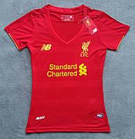 Женская футболка Ливерпуль (красная)