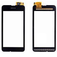 Сенсор (Touch screen) Nokia 530 Lumia черный оригинал