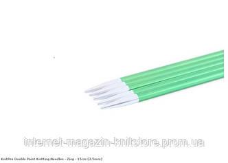 Спицы носочные Zing KnitPro 15 см | 3.5 мм