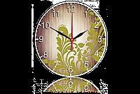 Часы-картина 33 см. Код: Абстракция