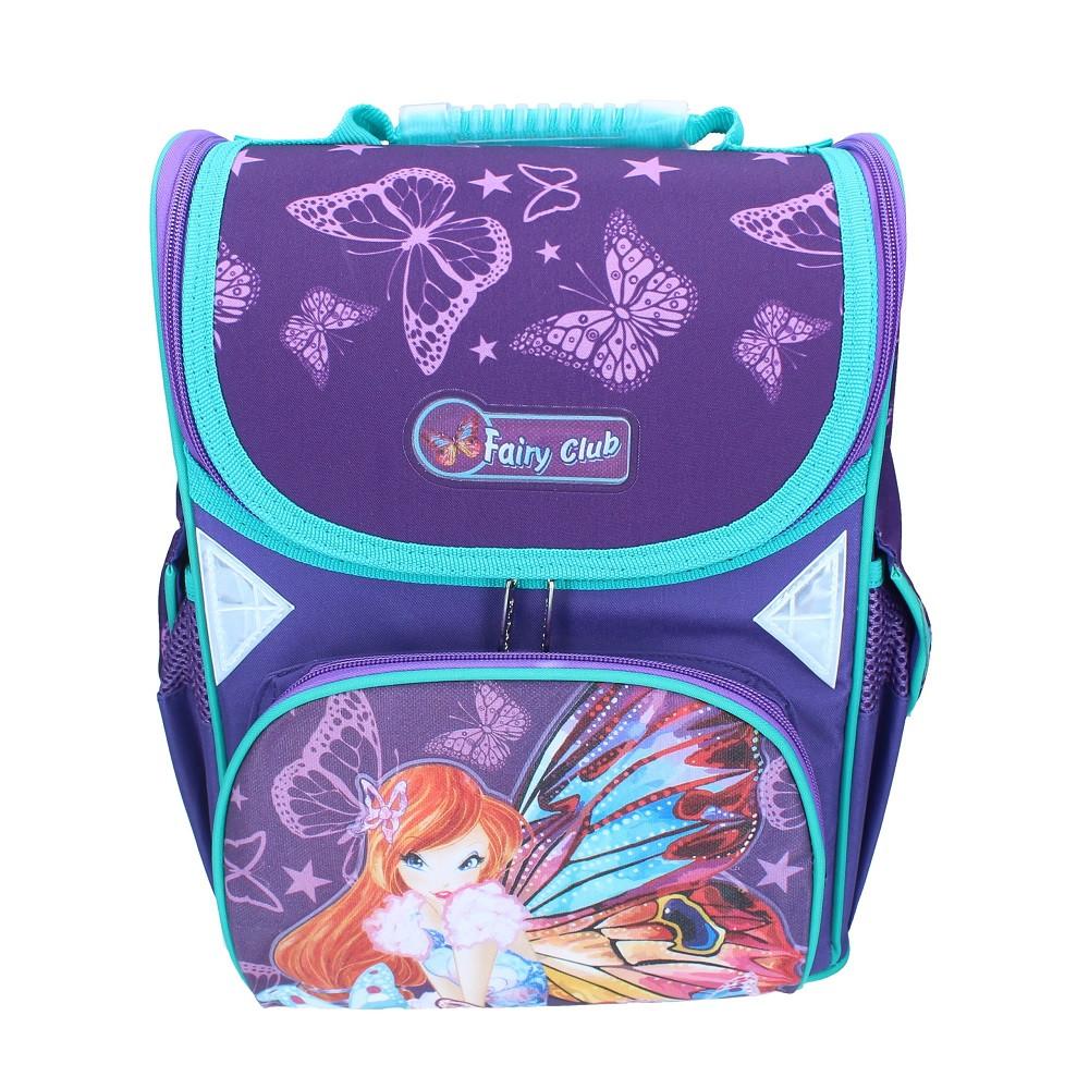 0514486edd94 Рюкзак Школьный Каркасный (ранец) для Девочки Class Fairy Viola 9701 Чехия  — в Категории