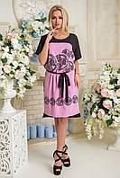Летнее красивое платье с 46 по 52 размер 6 цветов