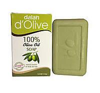 Мыло натуральное оливковое Dalan D'Olive (150г) туалетное, ручной Работы