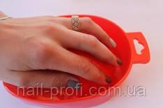 Ванночка для маникюра цветная пластиковая