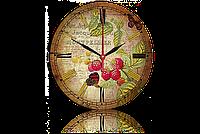Часы-картина 33 см. Код: Натюрморт