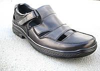 Мужские кожаные туфли летние большие размеры 46-50 р-р