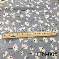 Ткань Лён принт HTN-005