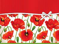 Пакет подарочный бумажный гигант горизонтальный 46х32х15 (28-002)