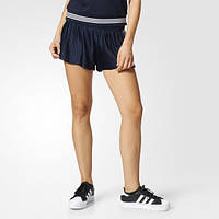 Модные плиссированные шорты женские adidas Originals 3-Stripes BK2315