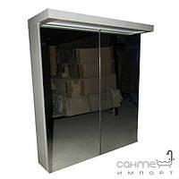 Уценённая сантехника Мебель и зеркала для ванной комнаты Зеркальный шкафчик для ванной комнаты с подсветкой EAGO PC 122 FA-2 цвет мята (уценка)