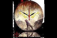 Часы-картина 33 см. Код: Пейзаж